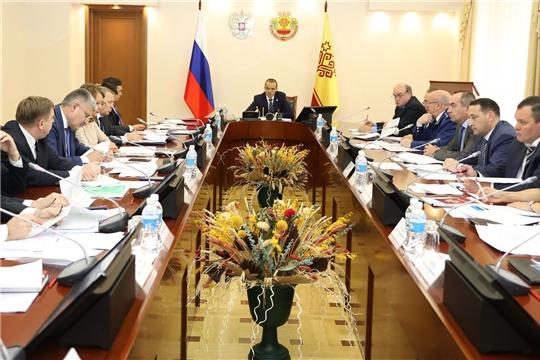 Глава Чувашии провел заседание Координационного совещания по обеспечению правопорядка