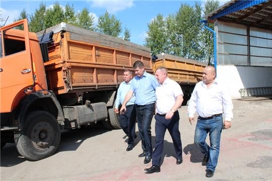 Продовольственный фонд Чувашской Республики продолжает приемку зерна