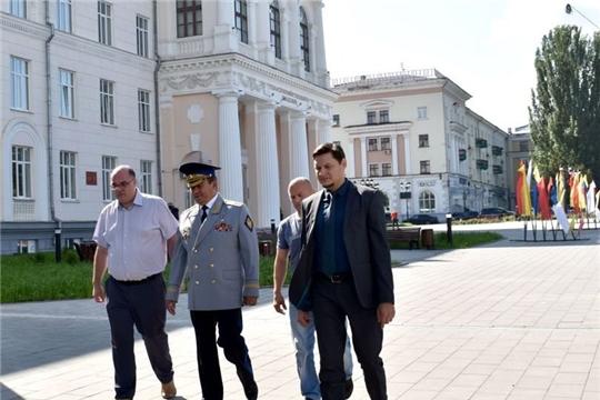 Чувашскую ГСХА посетил Герой России, генерал-лейтенант Николай Гаврилов