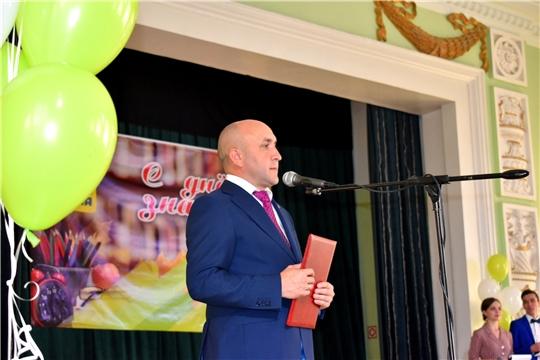 Сергей Артамонов принял участие в торжественном мероприятии, посвященном Дню знаний в Чувашской государственной сельскохозяйственной академии.