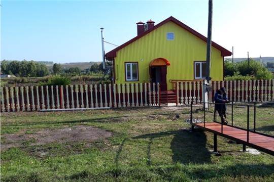 Строительство нового модульного фельдшерско-акушерского пункта в деревне Оженары