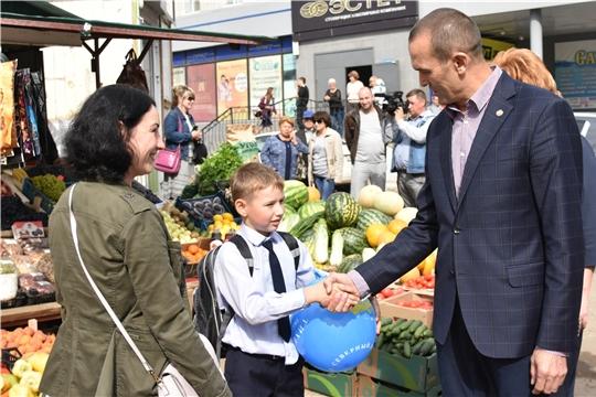 Глава Чувашии Михаил Игнатьев в Новочебоксарске проинспектировал работу торговых точек