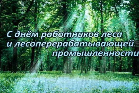 Поздравление Главы Чувашии Михаила Игнатьева с Днем работников леса