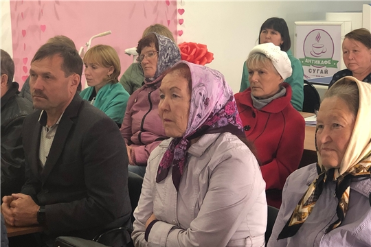 Сергей Артамонов обсудил с жителями Канашского района темы Информационного дня