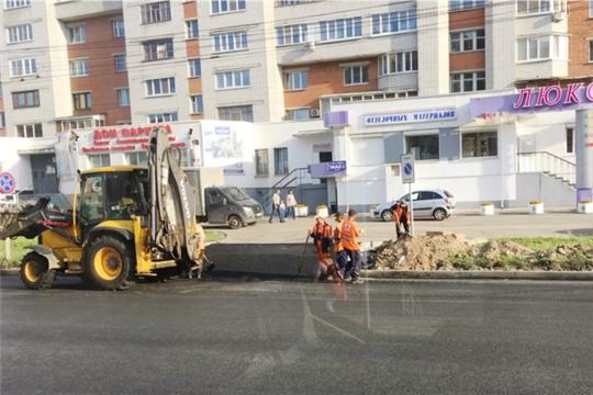 Дорожный ремонт в Чебоксарах ведется на 6 дорогах