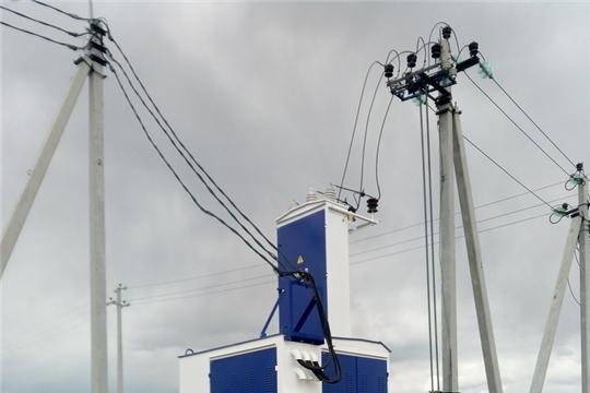 КУ «Чувашупрдор»: в рамках нацпроекта «Безопасные и качественные автомобильные дороги» завершилось строительство освещения на объекте в Алатырском районе