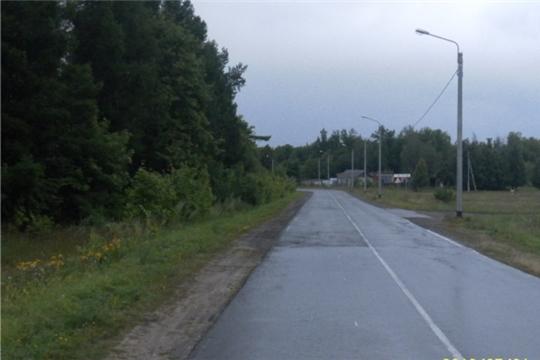 В Ядринском районе на участке республиканской автодороги «Никольское-Ядрин-Калинино» завершены работы по устройству искусственного освещения