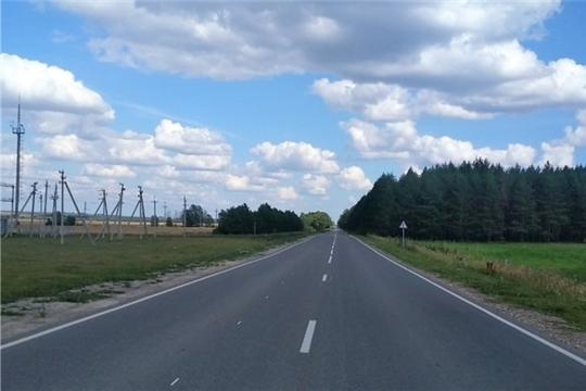 Завершены работы на автодороге «Цивильск-Ульяновск-Яманчурино», отремонтированной в рамках нацпроекта «Безопасные и качественные автомобильные дороги»