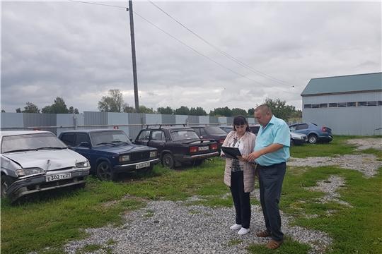 Плановые проверки специализированных стоянок на территории Алатырского  и Шумерлинского  районов.