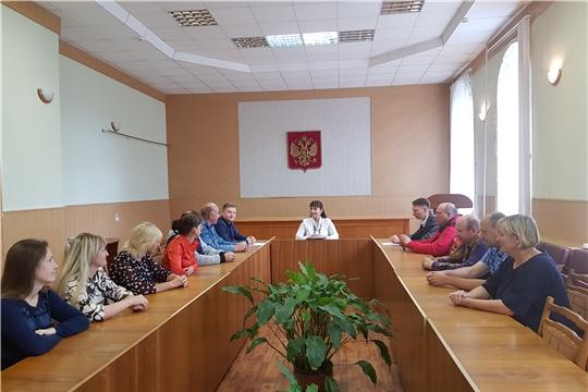 Cовещание по вопросам  развития межмуниципальной маршрутной сети Алатырского района.
