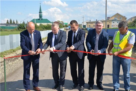 В селе Шыгырдан Батыревского района состоялось открытие автомобильной дороги
