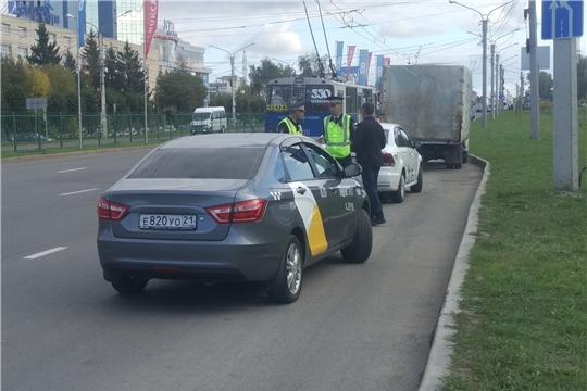 Проверка соблюдения действующего законодательства при осуществлении пассажирских перевозок легковым такси продолжается
