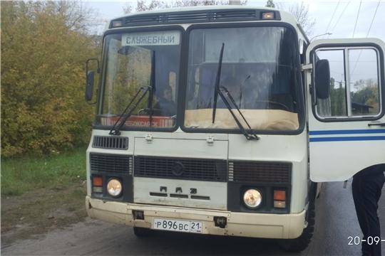 Проведен рейд «Автобус» в г. Новочебоксарск
