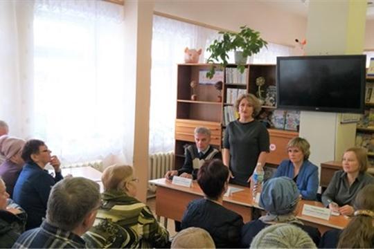 В рамках республиканского проекта «Юристы-населению» состоялась встреча с населением в ТОС «Набережный» г. Новочебоксарска