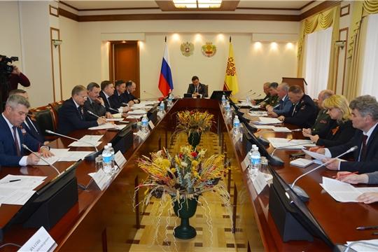 Состоялось заседание рабочей группы по подготовке и проведению празднования Дня Победы