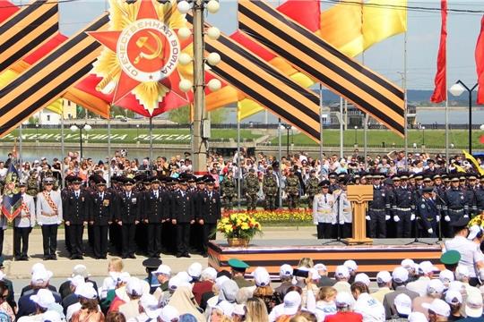 На еженедельном совещании подведены итоги празднования Дня Победы в Чувашии