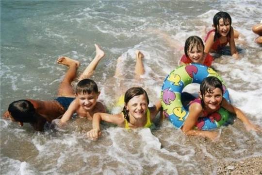 Обеспечение безопасности детей на воде - обязанность родителей