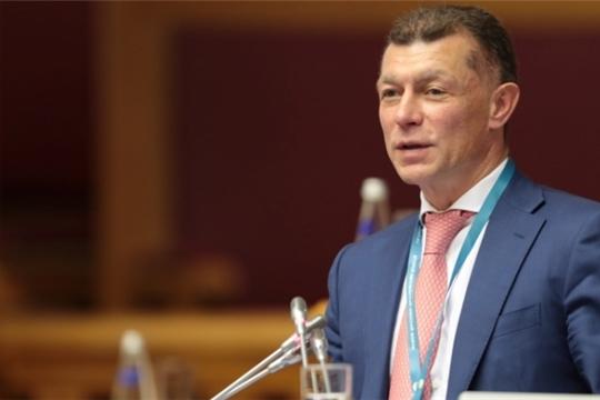 Министр Максим Топилин выступил на X съезде Федерации Независимых Профсоюзов России