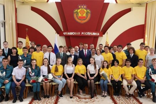 Глава Чувашии поздравил победителей и призеров VII Национального чемпионата «Молодые профессионалы»