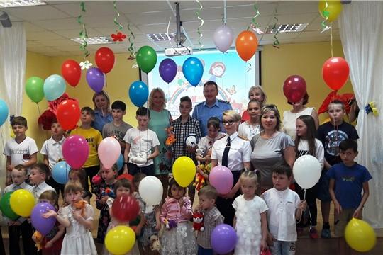 Воспитанники чебоксарского социально-реабилитационного центра для несовершеннолетних отмечают праздник детства