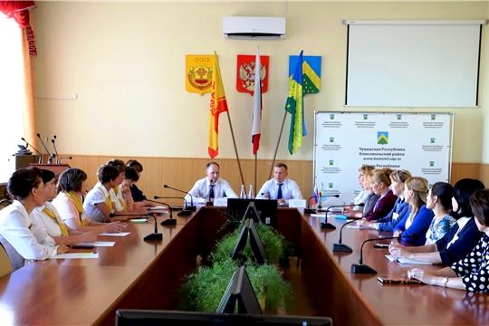Министр Сергей Димитриев посетил подведомственные Министерству учреждения Комсомольского района