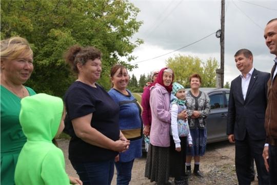 Глава Чувашии Михаил Игнатьев посетил с рабочим визитом Цивильский и Красноармейский районы