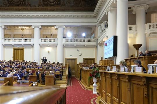 Состоялось пленарное заседание в рамках VI Форума регионов России и Беларуси