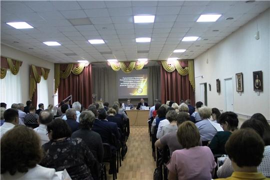 Министр Сергей Димитриев провёл совещание с представителями администраций муниципалитетов Чувашии по вопросу реализации нацпроекта «Демография»