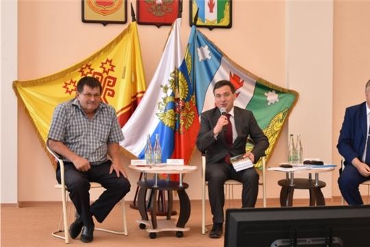 На совещании с активом Порецкого района рассмотрены вопросы реализации инвестиционных проектов