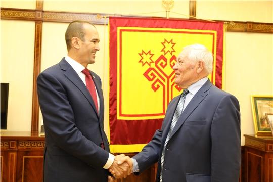 Михаил Игнатьев обсудил с председателем Совета старейшин ряд предложений в сфере социальной политики