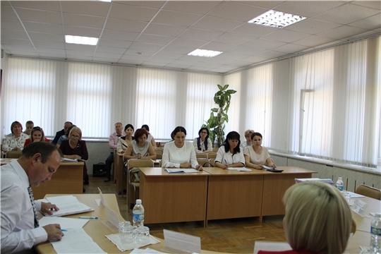 Балансовая комиссия Минтруда Чувашии рассмотрела результаты деятельности организаций, находящихся в ведомстве Министерства