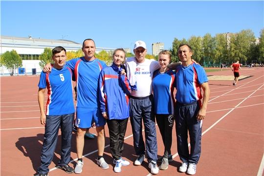 Спортивная команда Минтруда Чувашии приняла участие в эстафете «Советской Чувашии»