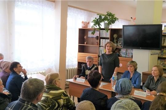 В рамках проекта «Юристы - населению» в Новочебоксарске состоялась встреча с населением в ТОС «Набережный»