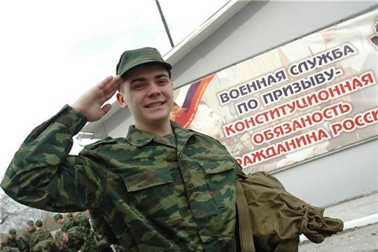 Начался весенний призыв на военную службу