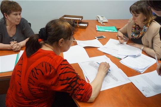 Министр юстиции и имущественных отношений Чувашской Республики Наталья Тимофеева провела прием граждан