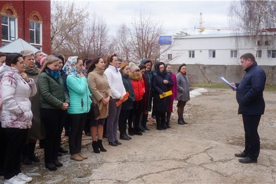 Минюст Чувашии принимает участие в штабной тренировке по гражданской обороне