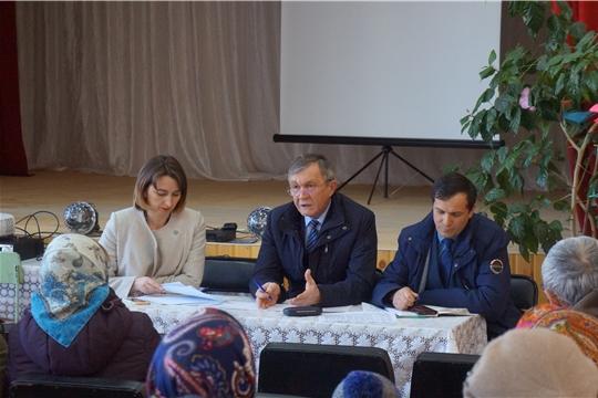 В Аликовском районе прошел Единый информационный день