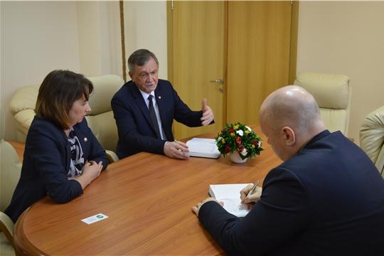 В Минюсте Чувашии обсудили организацию обращения с ТКО в Аликовском районе