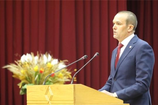 Михаил Игнатьев выступил на сессии Госсовета Чувашии с отчетом о результатах деятельности Кабинета Министров республики за 2018 год