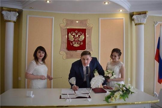 Спешат ли жители Чувашии заключить брак на Красную горку?