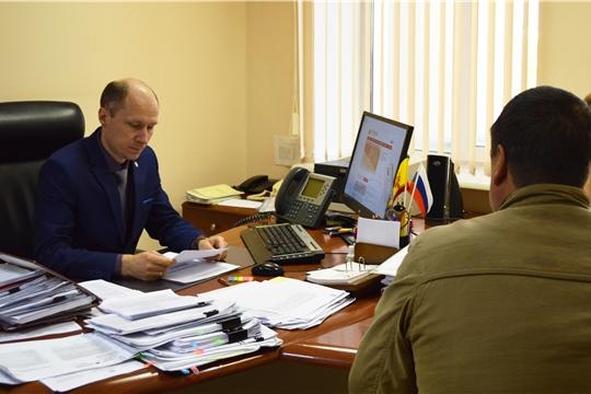 Заместитель министра Игорь Михайлов провел прием граждан