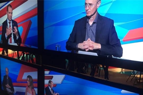 В эфир выйдет телепрограмма «Россия – территория бизнеса. Чувашская Республика»