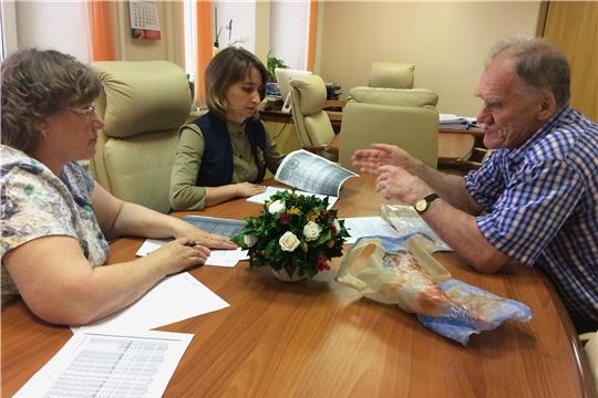 Министр Наталья Тимофеева провела прием граждан