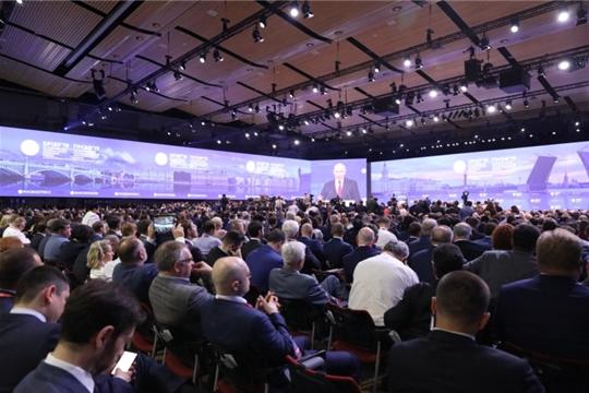 Обсуждены итоги участия делегации Чувашской Республики в Петербургском международном экономическом форуме