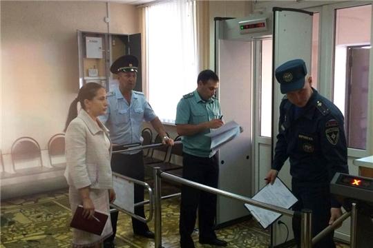 Продолжается обследование помещений судебных участков мировых судей Чувашии