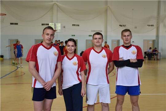 Минюст Чувашии – участник соревнований по баскетболу