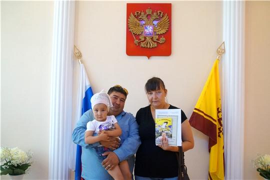 В Калининском районе г.Чебоксары появился на свет 1000-й малыш