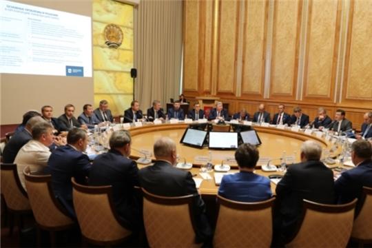 Глава Чувашии принял участие в заседании Совета при полпреде Президента РФ в ПФО
