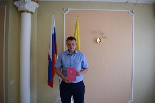 Торжественные ритуалы «Имянаречение» в отделе ЗАГС города Алатыря были посвящены Дню Республики