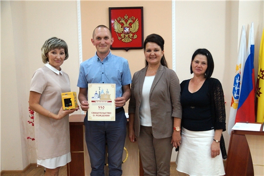 В Ленинском районе г.Чебоксары зарегистрирован 700-ый новорожденный